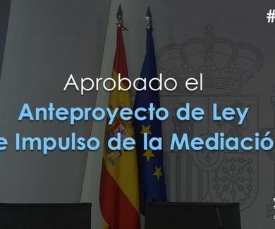 ANTEPROEYCTO DE LEY PARA IMPULSO DE LA MEDIACION DONDE SE PRETENDE INTRODUCIR DE FORMA OBLIGATORIA