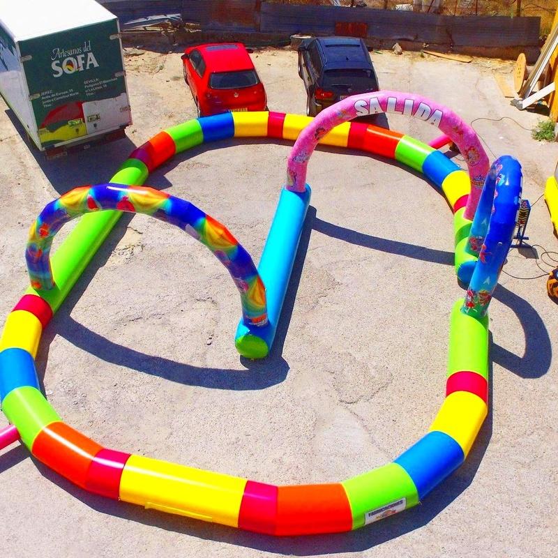 Circuito hinchable : Catálogo de Hinchables Happy Jump