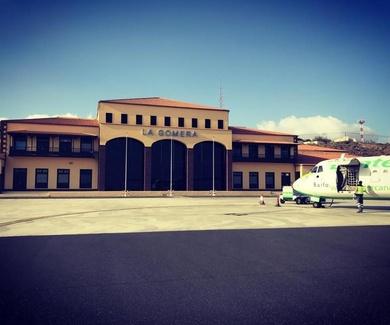 El aeropuerto de La Gomera el de mayor crecimiento porcentual de pasajeros en noviembre