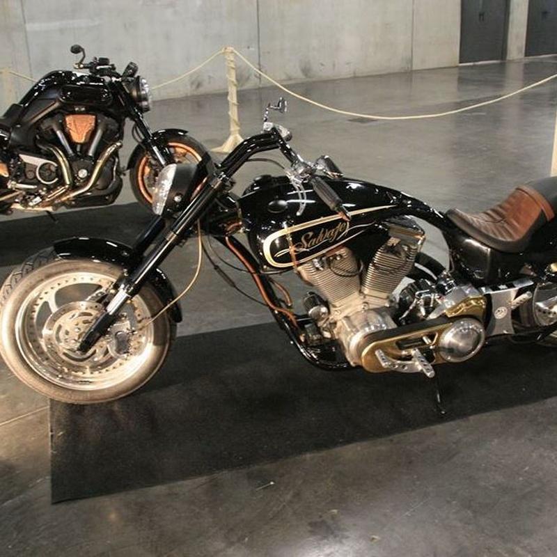 Construccion moto: Nuestros Trabajos de Break Skull Choppers