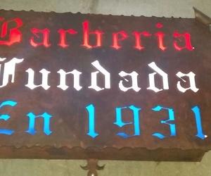 Barbería fundada en 1931