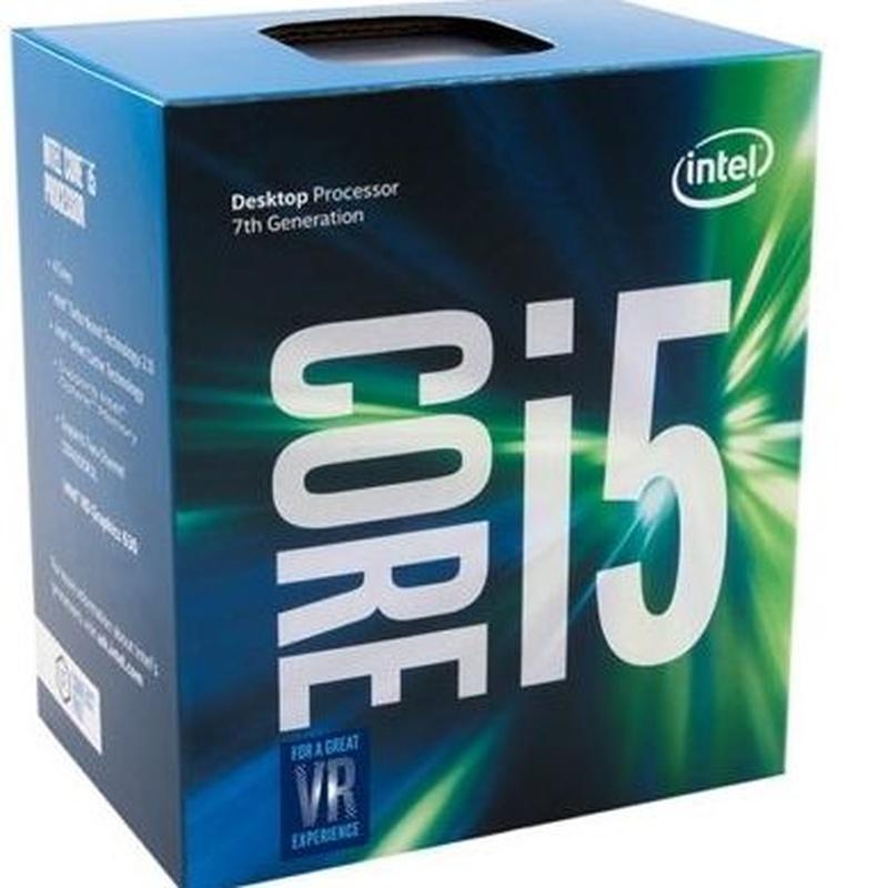 Intel Core i5 7400 3.0Ghz 6MB LGA 1151 BOX: Productos y Servicios de Stylepc