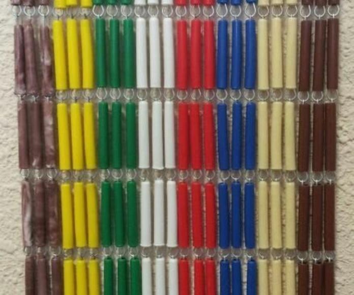 Cortina de canutillo: Productos  de Persianas y Aluminios TERGON