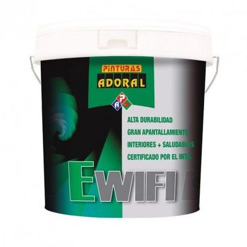 Pintura E-WIFI: Servicios y productos de Hnos. Guerrero, S.L.