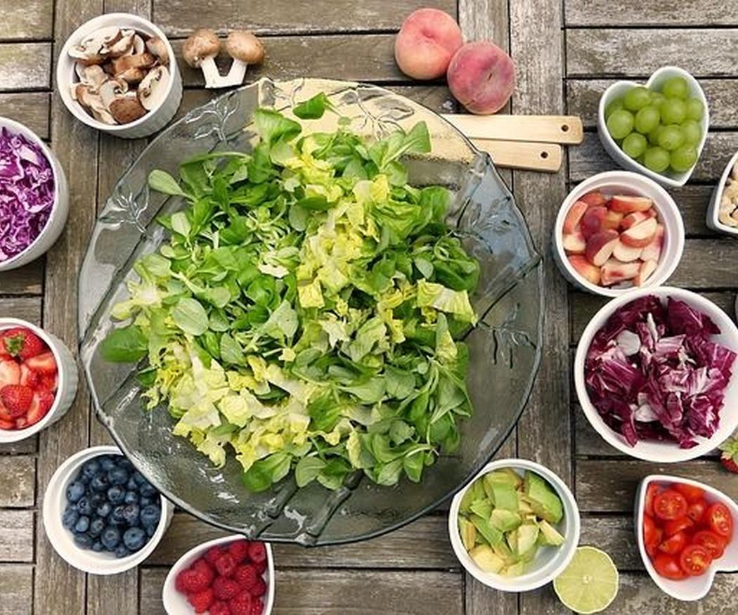 Beneficios para la salud de la comida vegetariana
