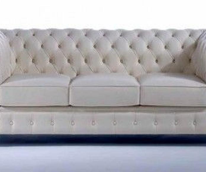 Sofás 2 y 3 plazas: Nuestros muebles de Muebles Aguado
