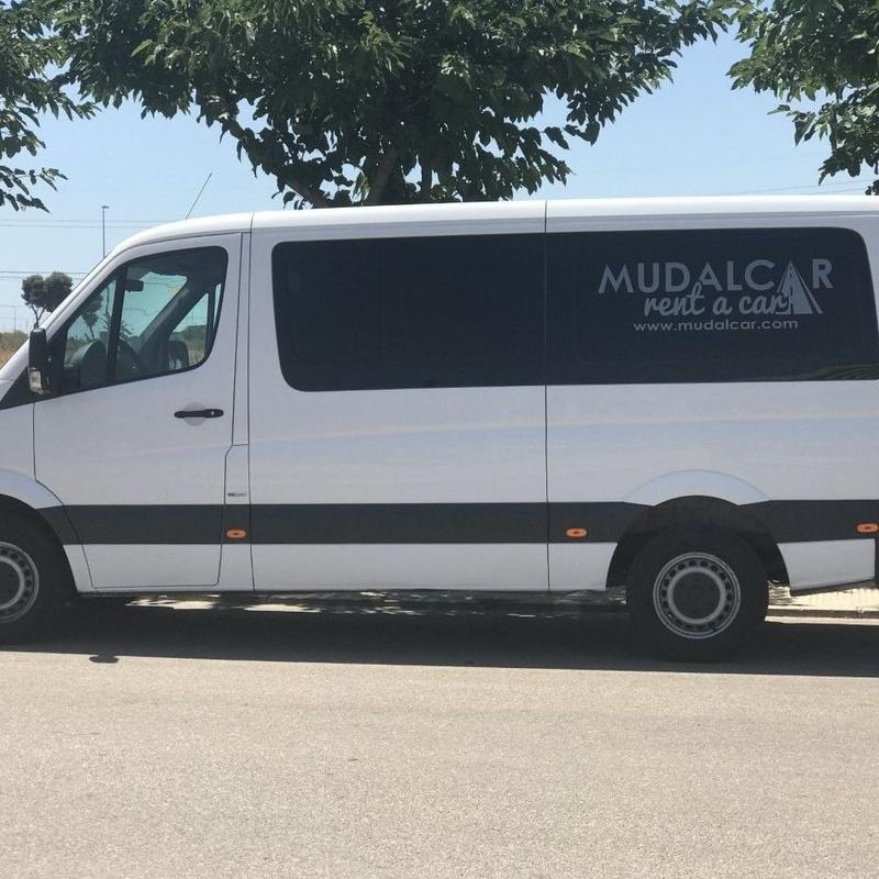 Alquiler de furgones: Servicios de MUDALCAR     rent a car