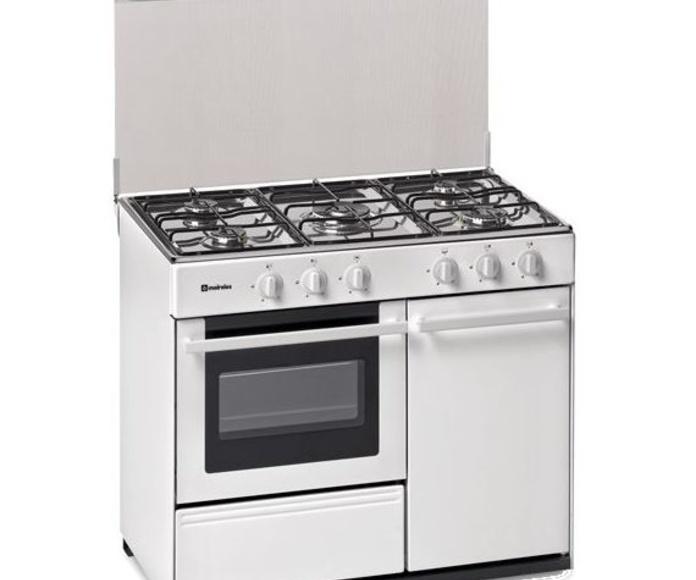 COCINA MEIRELES G2950VW BLANCA HORNO-PORTABOMB. ---389€ E INOX399€: Productos y Ofertas de Don Electrodomésticos Tienda online