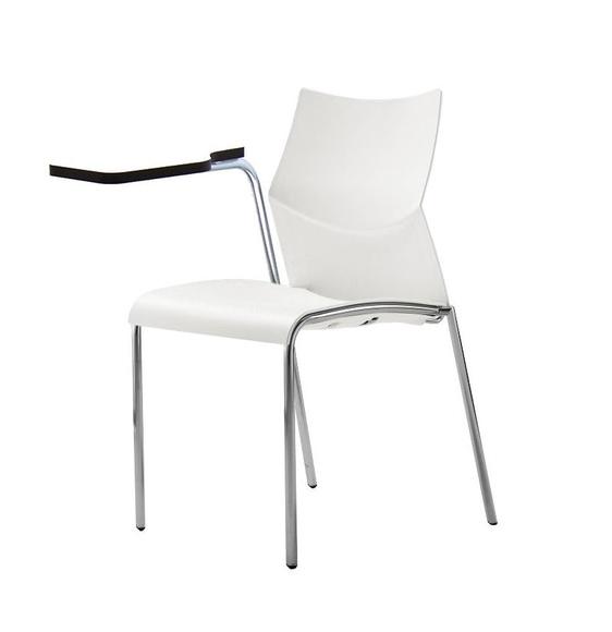Silla de conferencia con pala de escritura.: Alquiler de mobiliario de Stuhl Ibérica Alquiler de Mobiliario