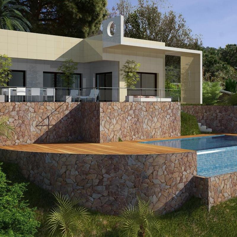 proyectos de viviendas en 3D: Productos y servicios de Jaume Montfort Romagosa