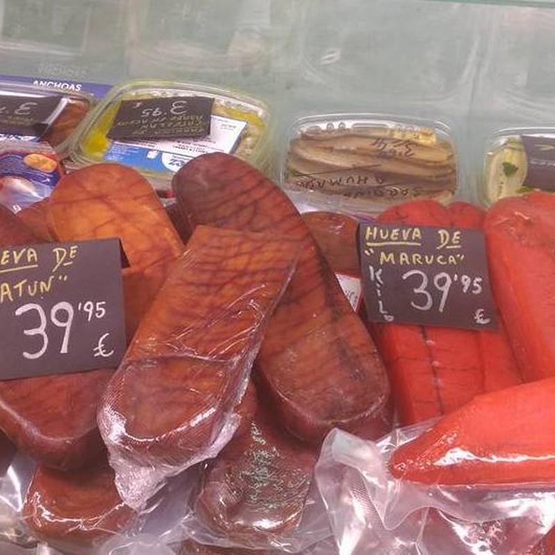 Salazones: Productos de Comestibles y Salazones Paco y Mari