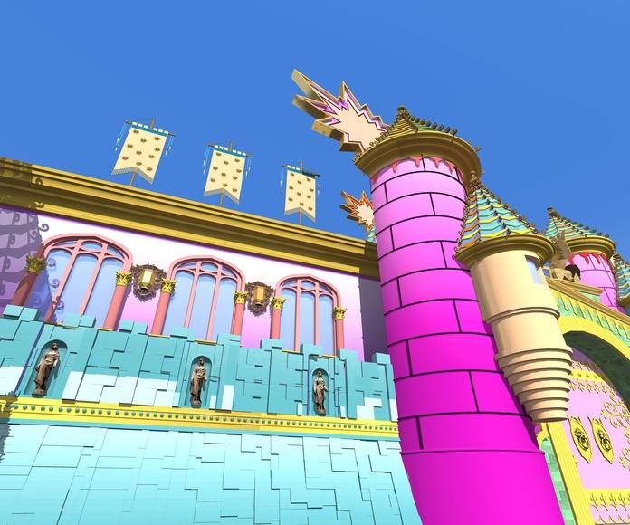 Escenario Carnaval Fantasía 2014 (infografía)