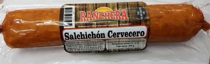 Salchichon cervecero Ranchera: PRODUCTOS de La Cabaña 5 continentes