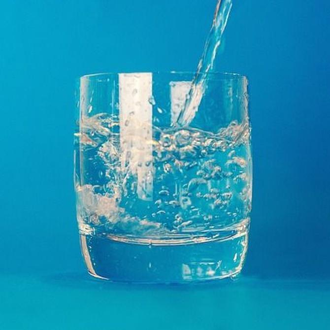 Tomar agua filtrada es más que recomendable