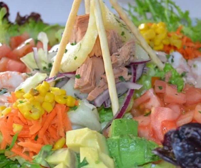 Ensaladas: Carta de Restaurante Los Remos Lázaro