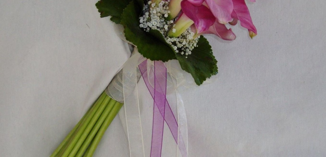 Ramos para novias en Madrid centro con flores frescas