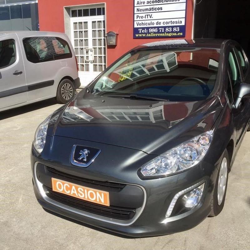 Peugeot 308 1.6HDI 90CV:  de Ocasión A Lagoa