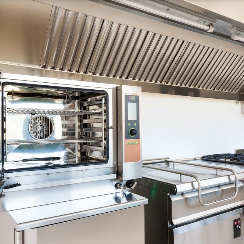 Limpieza de extractores de cocinas industriales Madrid