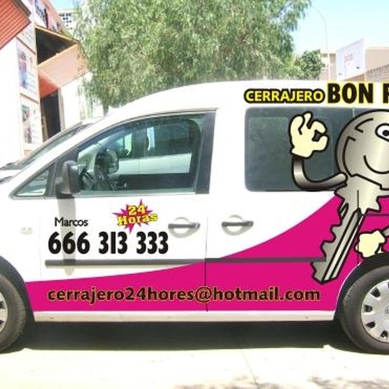 Cambio y reparación de cerraduras: Servicios de Bon Preu Cerrajero