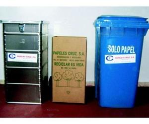 Recuperación de papel y cartón