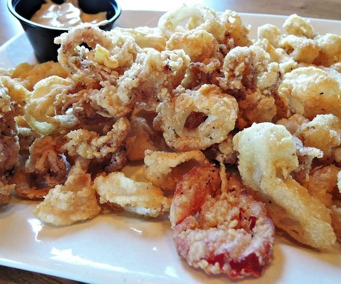 Especial tempura (6 piezas): Menús de Kiniro Sushi
