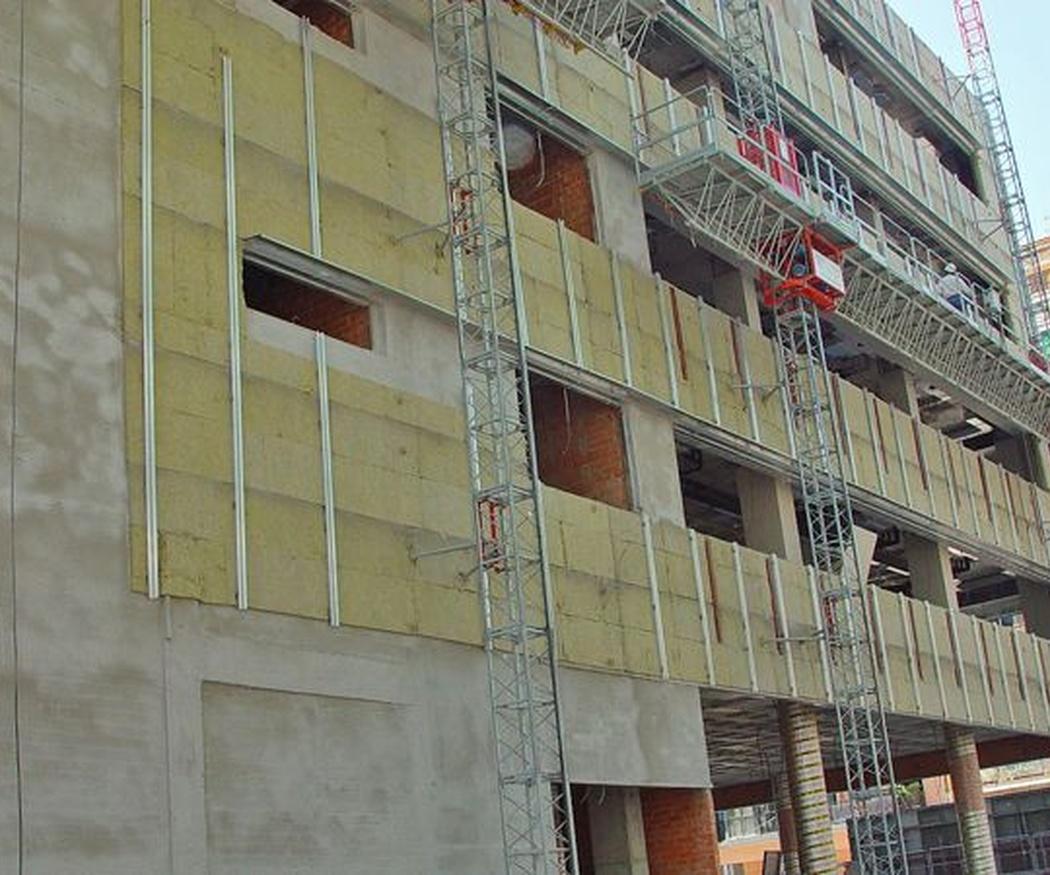 Las fachadas ventiladas y sus ventajas