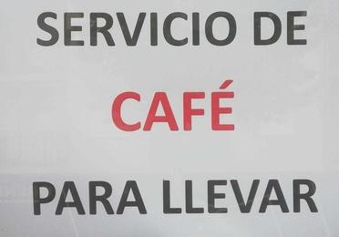 Servicio de café para llevar