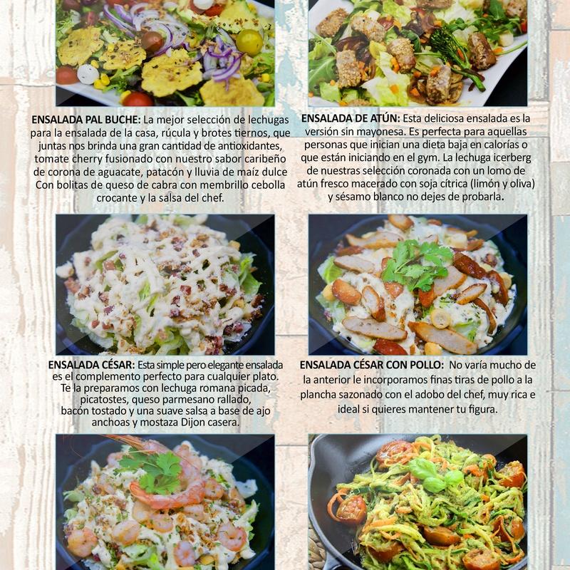 Ensaladas: Carta de Restaurante Pal-buche