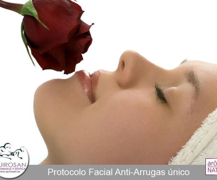 Facial Rosa de bulgaria - Regenerador profundo - Antiarrugas: Servicios de Quirosan