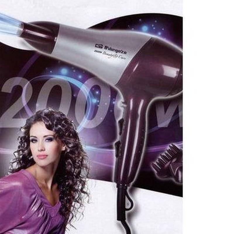 Secador de pelo Orbegozo SE 2070: Productos de Ferretería Baudilio