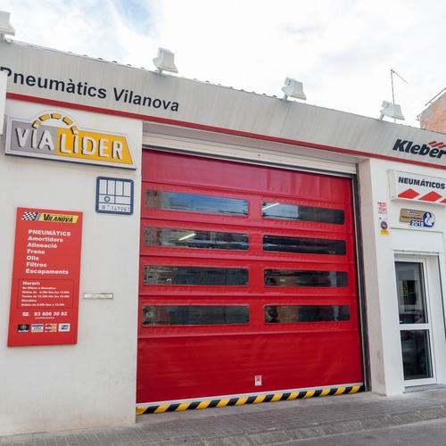 Cambio de neumáticos en Vilanova del Camí