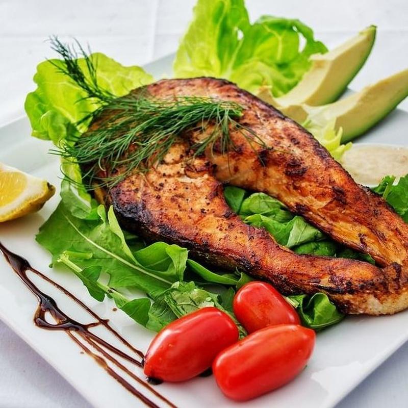Pescados y mariscos: Carta de Restaurantes El Portillo y La Bamby