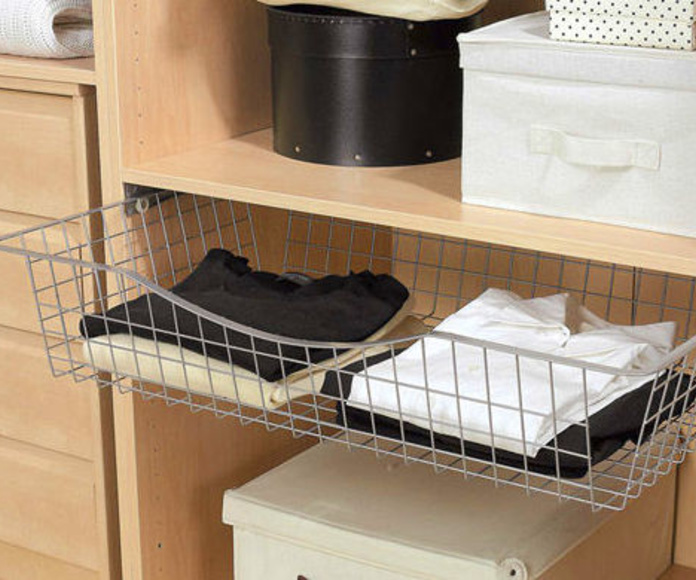 Distribuir el interior de los armarios