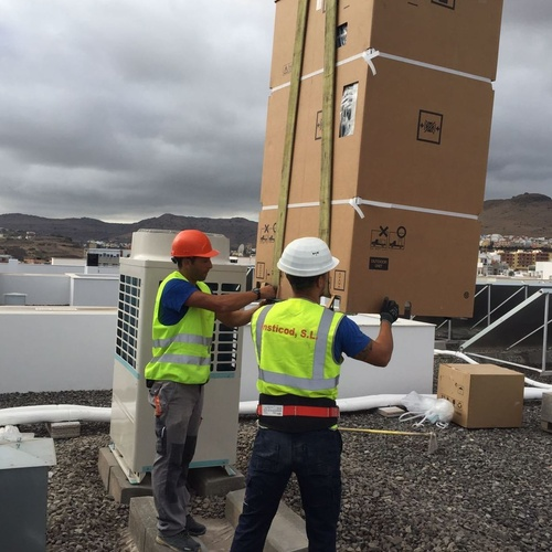 Aire acondicionado en Canarias: Insticod