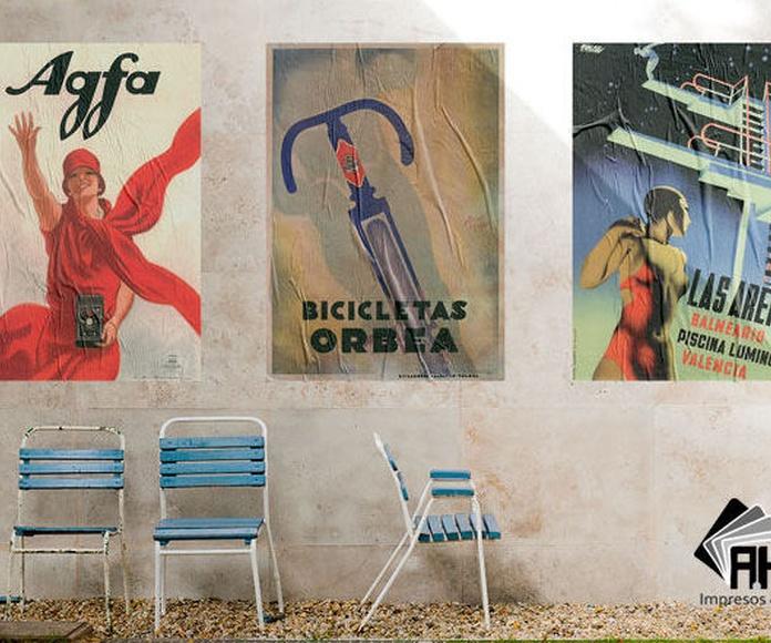 En A.Herrera podrás imprimir tus carteles personalizados