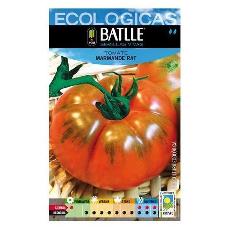Semillas ecológicas de Tomate marmande raf Ref 1
