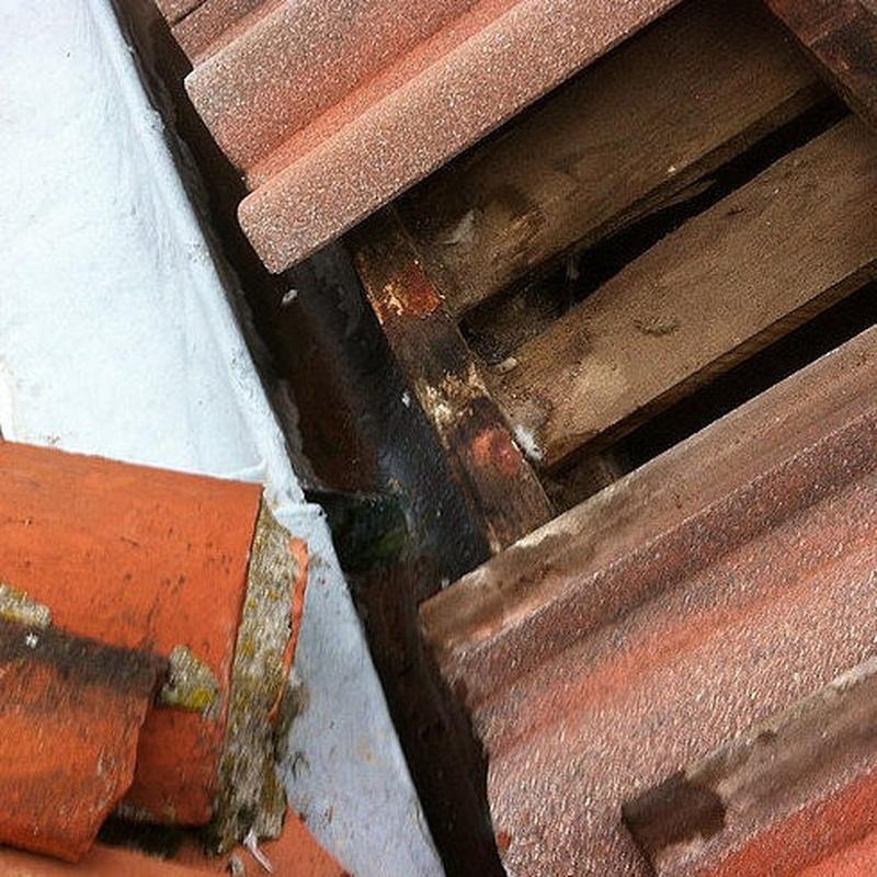 Reparación de goteras: Servicios de Dim Canal