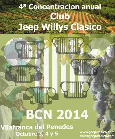4ª Concentración Club Jeep Willy Clásico 2014