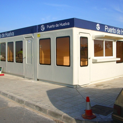 Control Puerto de Huelva 2,40 x 7,20 m.2 unidades.