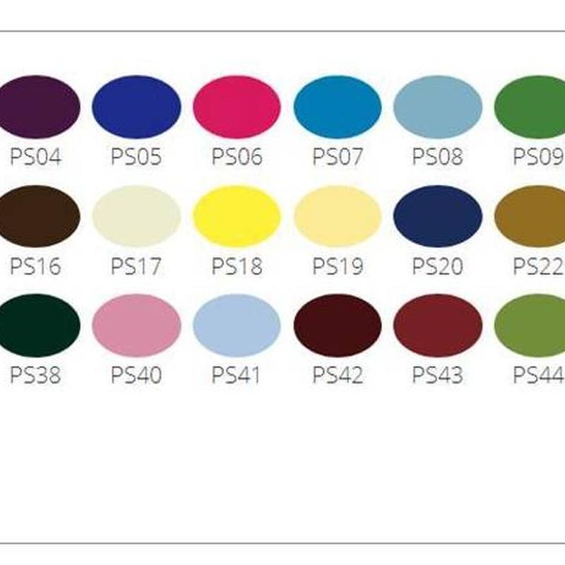 Carta de colores punto de seda