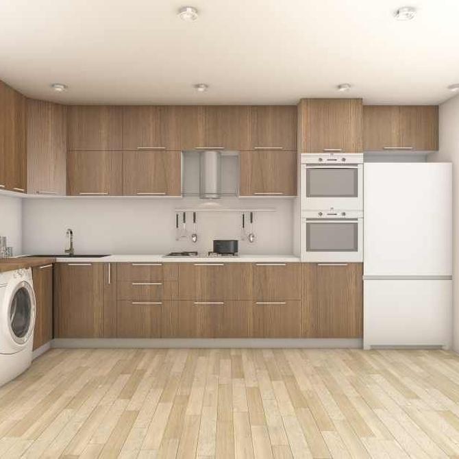 Los mejores materiales para tus muebles de cocina
