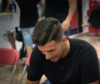 Corte de pelo: Servicios y cursos de Academia de Barbería David Cabello