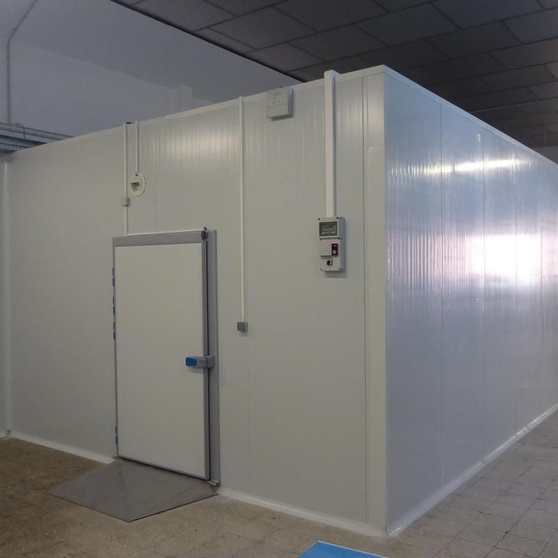 Cámaras de congelación y mantenimiento: Catálogo de Automatismos Guillén