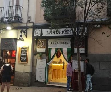 Promoción de Listau . Local de Las Letras