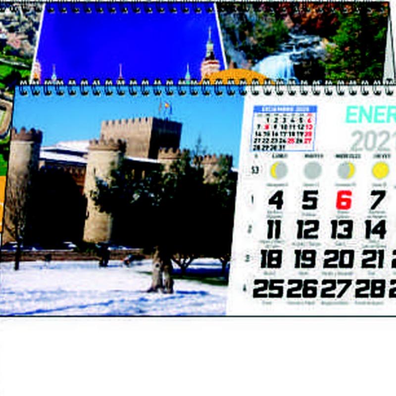 Ref. 58 - Aragón: Nuestros Productos de Gráficas Kalendex