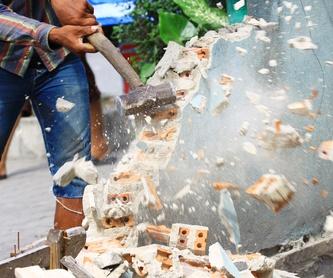 Reciclaje: Servicios de Derribos Mateo
