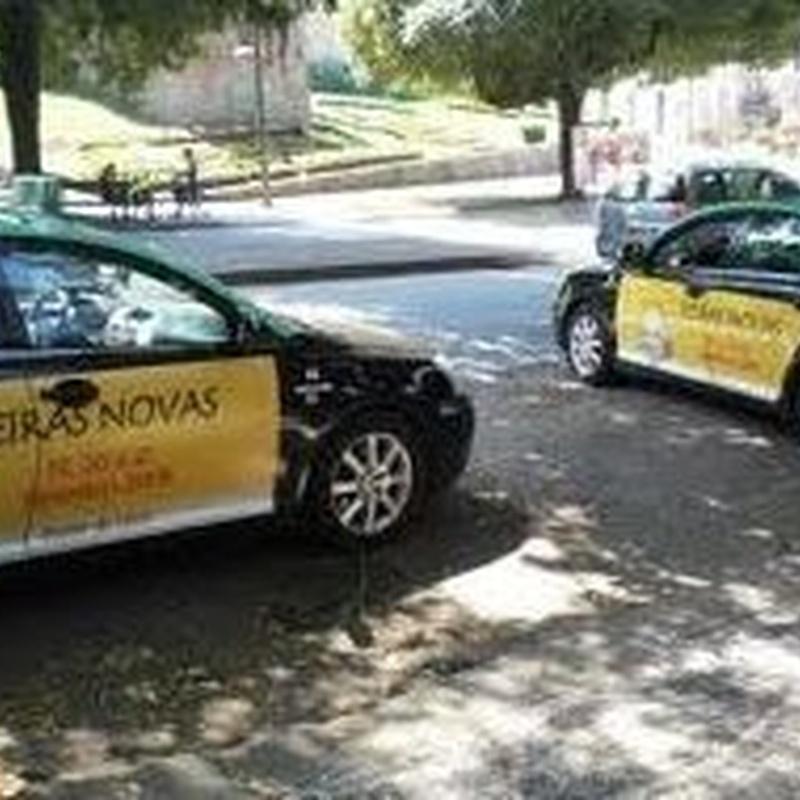 Táxis: SERVIÇOS de Central Taxis Limiana