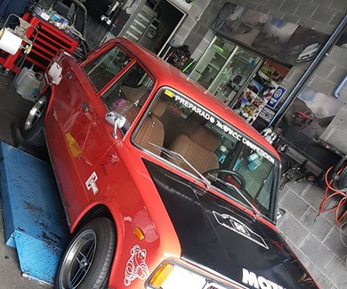 Seat 124 - Luces
