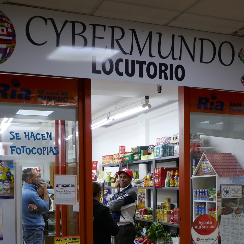 Cybermundo Locutorio: Tiendas de Zoco Villalba