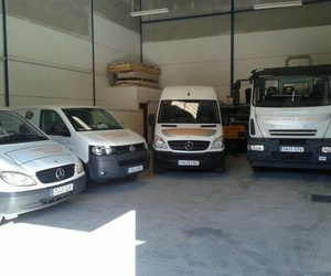 Flota de vehículos de empresa